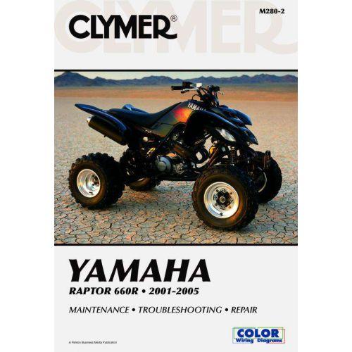Clymer Repair Manual - Honda - Raptor 660R - M280-2