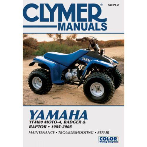 Clymer Repair Manual - Yamaha - YFM80 Moto-4 & Badger & Raptor - M499-2