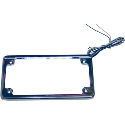 Custom Dynamics LED License Plate Frame - LPF-HRZ-C-LP