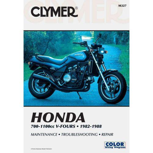 Clymer Repair Manual - Honda - 700-1100cc V-Fours  - M327