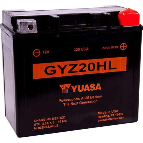 Yuasa GYZ Factory Activated AGM Maintenance-Free Battery