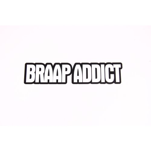 Royal Distributing Sticker Braap Addict - 12-1151