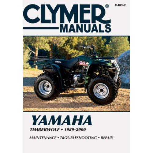 Clymer Repair Manual - Yamaha -Timberwolf -M489-2