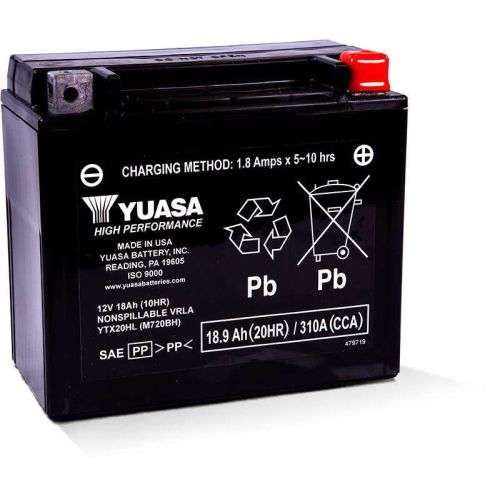 Yuasa Battery - YTX20HL