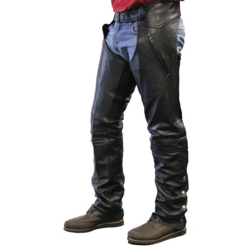 Highway 2 Clyde Leather Chaps