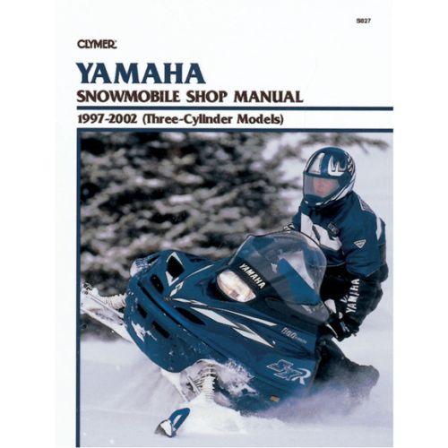 Clymer Manual Yamaha - S827