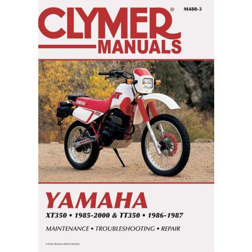 Clymer Repair Manual - Yamaha -XT350 & TT350  -M480-3