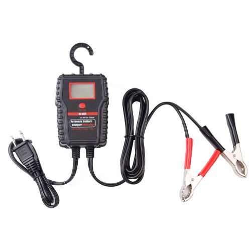 Wolftech Battery Charger/Tester with LCD Display