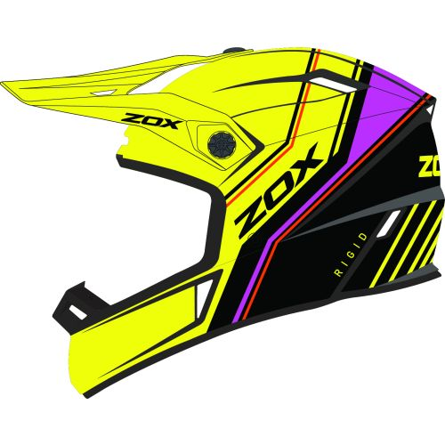 Zox Rage Rigid MX Helmet