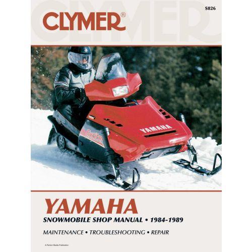 Clymer Manual Yamaha - S826
