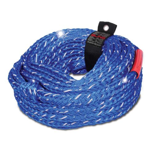 Airhead Bling 6-Rider Tube Tow Rope - AHTR-16BL