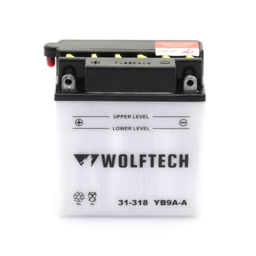 Wolftech Battery - YB9A-A