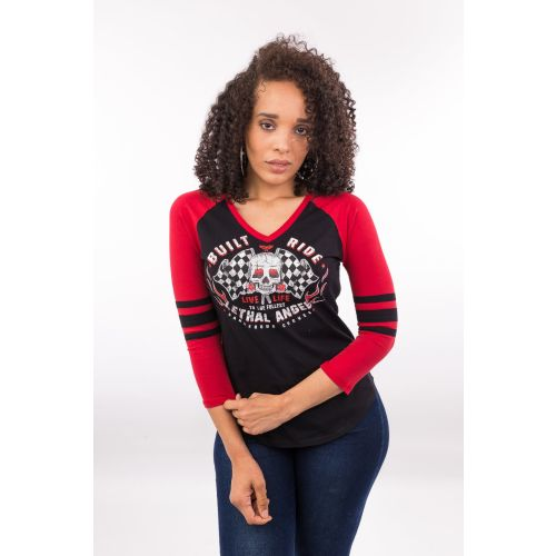 Lethal Angel Women's Built to Thrill 3/4 Sleeve
