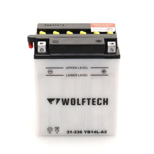 Wolftech Battery - YB14L-A2