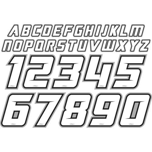 Factory Effex Iron-On ID Kit - 11-82130