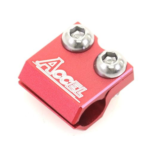 Accel Brake Line Clamp  - BLC-01 Red