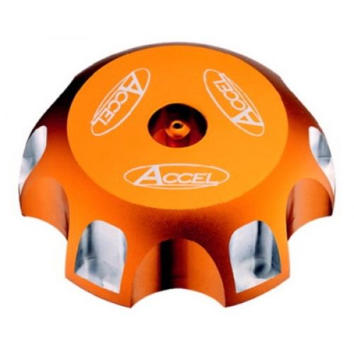Accel Billet Gas Cap for KTM with Threaded Gas Tank