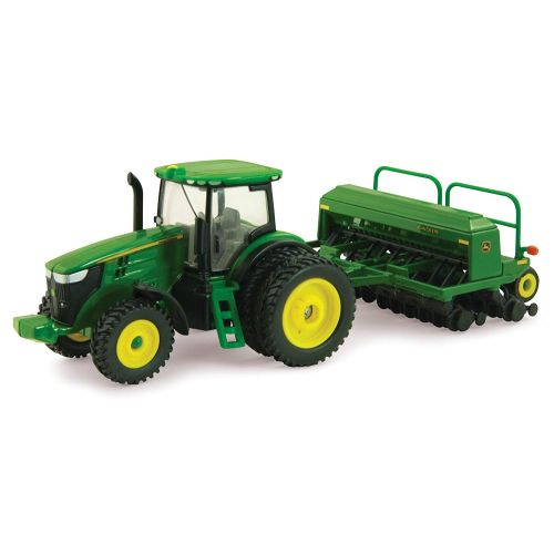 ERTL John Deere 7215R w/ 1590 Drill Seeder - 45433