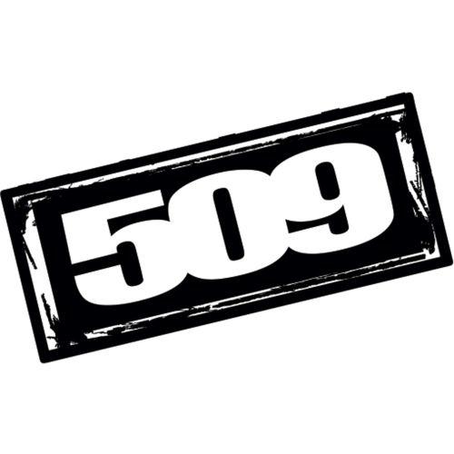 509 Logo Sticker