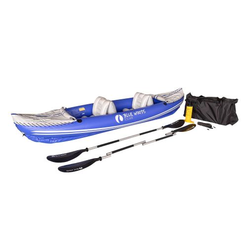 Blue Woods Escape Full PVC 2-Seater Inflatable Kayak