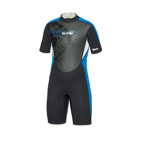 Bare Youth 2mm Manta Shortie Wetsuit