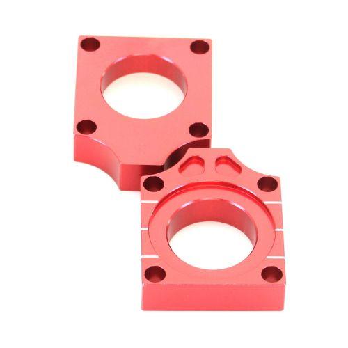 Accel Axle Blocks  - AB-03 Red