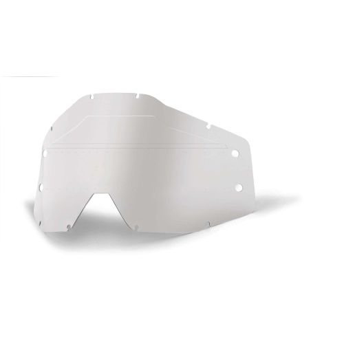 100% Single Lens for Accuri/Strata Forecast MX Goggle
