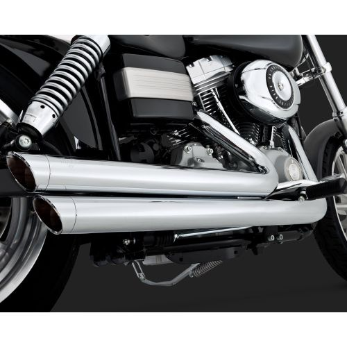 Vance & Hines Big Shots Staggered Exhaust - 17938