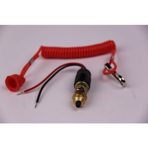 Wolftech Stop Switch With Cord for Ski-Doo - 01-111-20