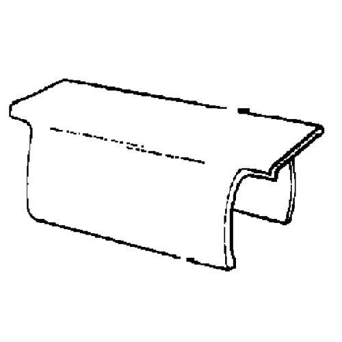 """Maxx 1-1/2""""-Wide Flat Track Clip - 04-149-04"""