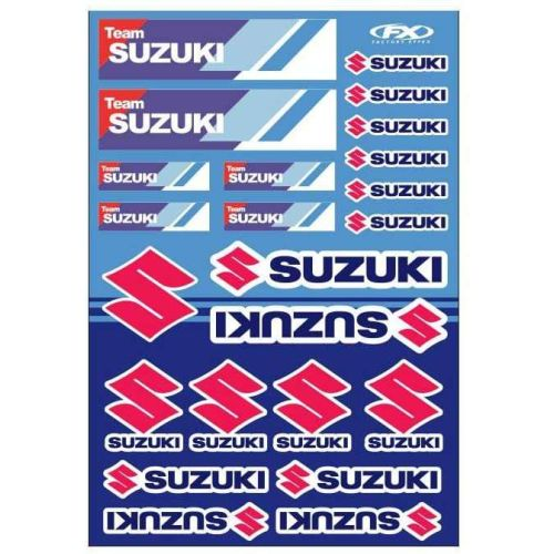 Factory Effex Suzuki Racing Graphics Kit