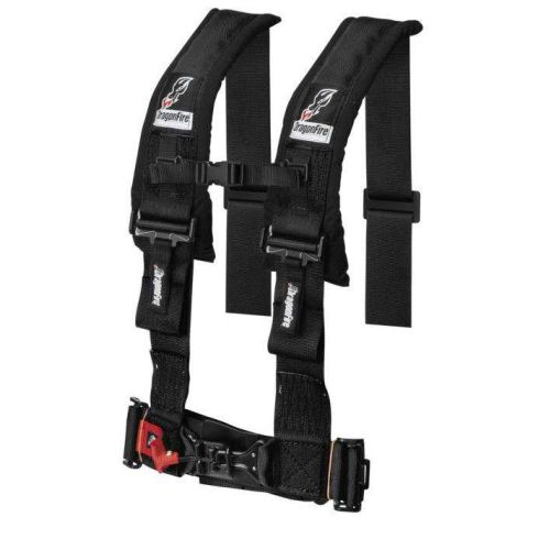 DragonFire 4-Point H-Style Harness - 14-0041
