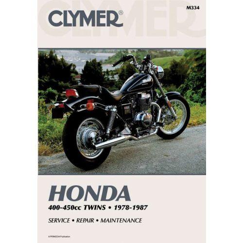 Clymer Repair Manual - Honda - 400-450cc Twins - M334