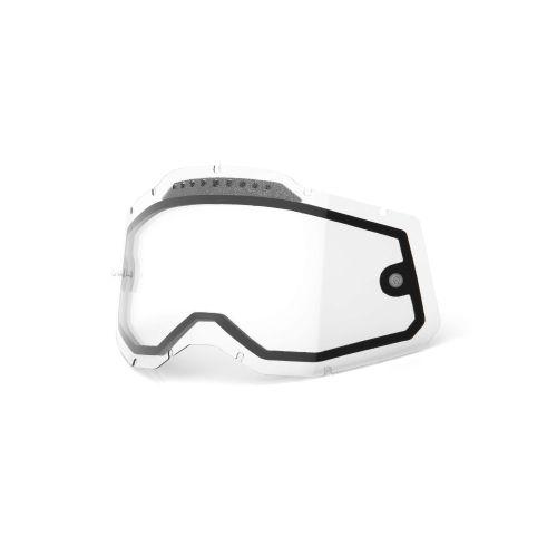 100% Dual Pane Lens for Racecraft 2.0/Accuri 2.0/Strata 2.0 MX Goggle