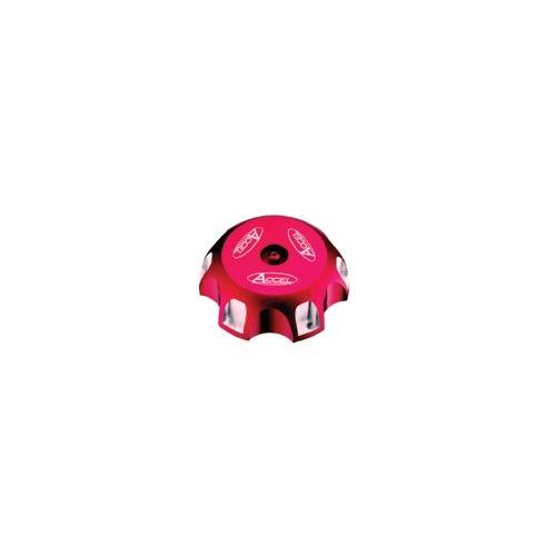 Accel Billet Gas Cap - GTC-06 Red