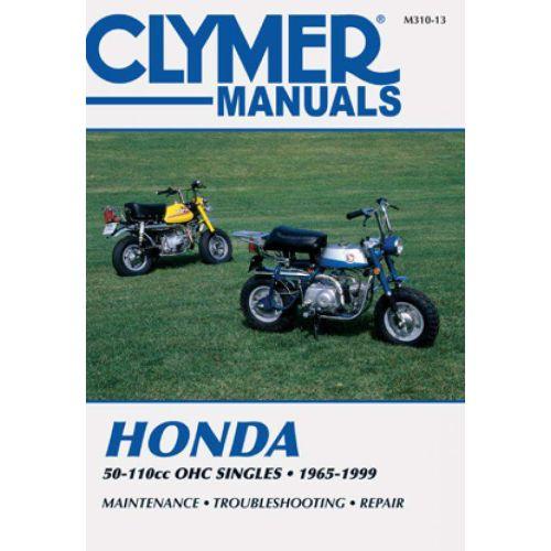 Clymer Repair Manual - Honda - 50-110cc OHC Singles - M310-13