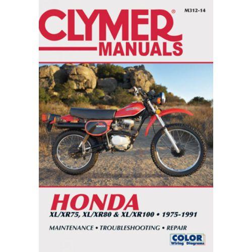 Clymer Repair Manual - Honda - XL/XR75 & XL/XR80 & Xl/XR100 - M312-14
