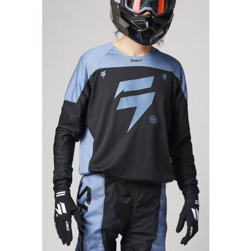 Shift Racing White Label Trac Jersey