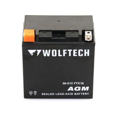 Wolftech AGM Maintenance Free Battery - YTX16