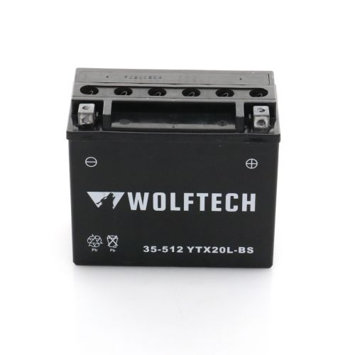 Wolftech Battery - YTX20L-BS
