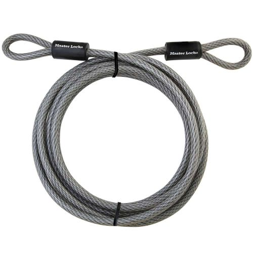 Master Lock Looped End Cable, 15' - 72DPF