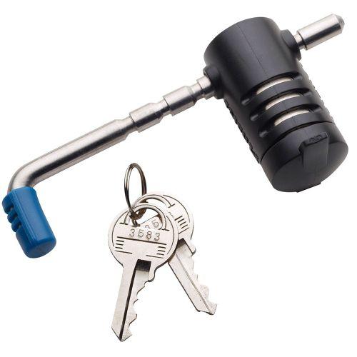 Master Lock Adjustable Coupler Latch Lock - 2847DAT