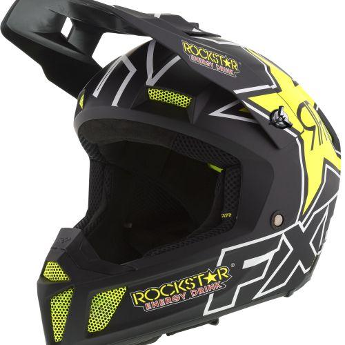 FXR Clutch CX Rockstar Snow Helmet