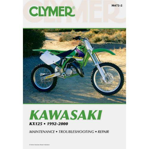 Clymer Repair Manual - Kawasaki - KX125 - M472-2