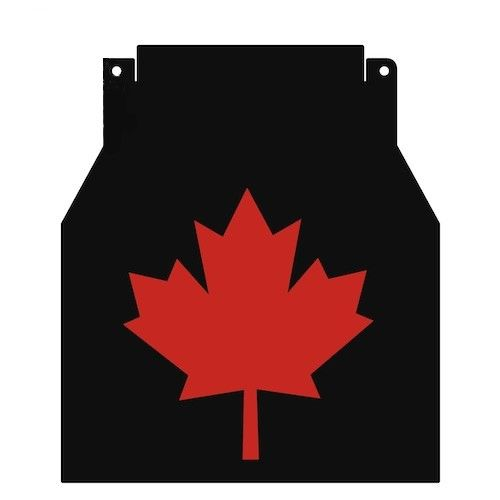 Proven Design Products Snow Flap Maple Leaf Red Arctic Cat - SF-FCATMPL68