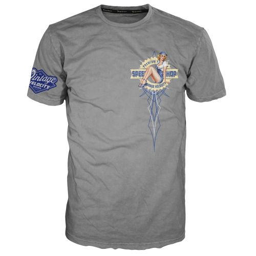 Lethal Threat Vintage Velocity Speed Shop Pin Up Tee
