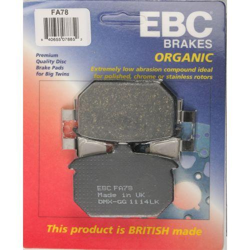 EBC Brake Pad Set  - FA78