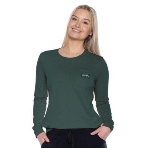 TEAMLTD Women's Buck Pocket Long Sleeve