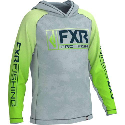 FXR Pro Fish Youth Derby UPF Pullover