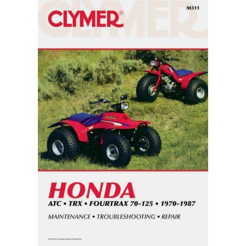 Clymer Repair Manual - Honda - ATC & TRX & Fourtrax 70-125 - M311